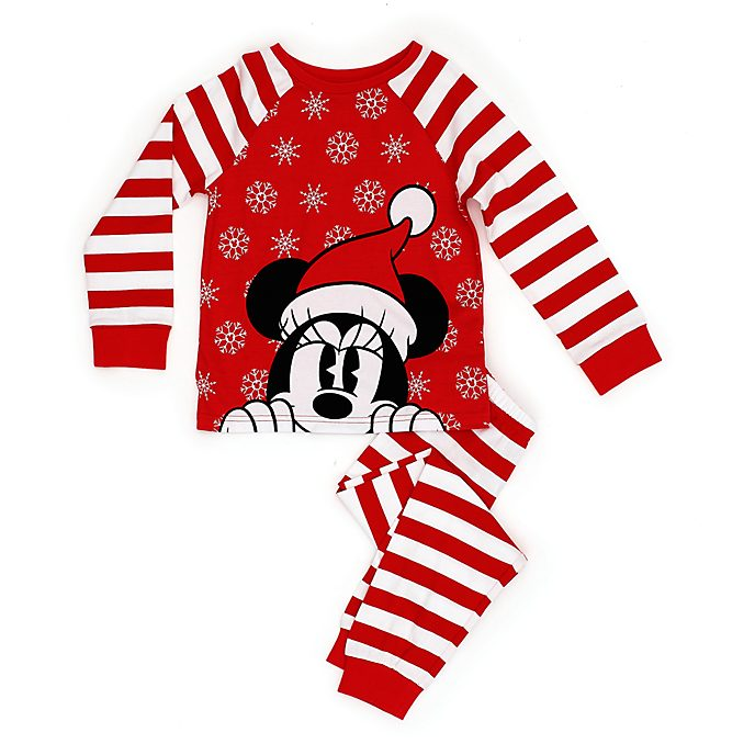 Pijama infantil Minnie Mouse, Holiday Cheer, Disney Store