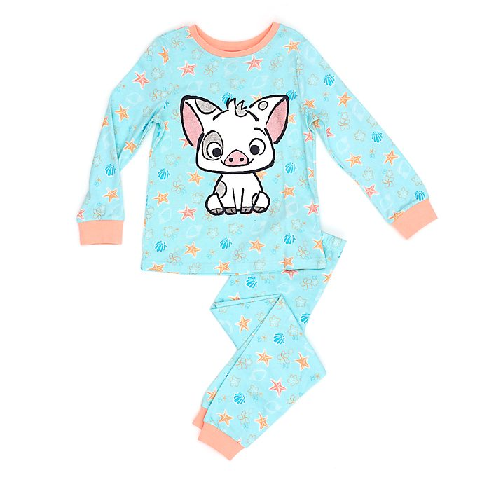 Pijama infantil Pua, Disney Store, Vaiana