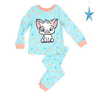 Disney Store Pyjama Pua pour enfants, Vaiana