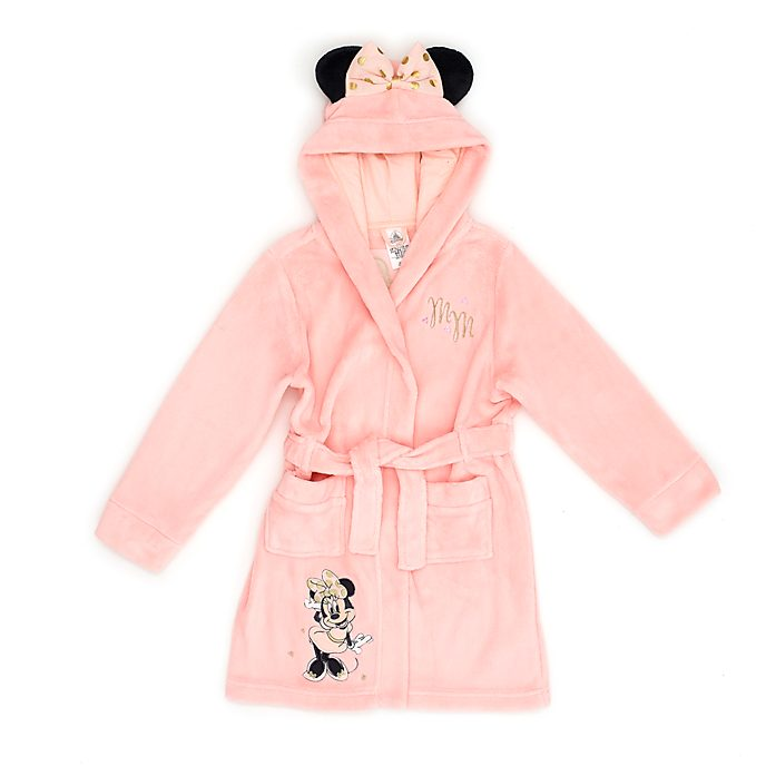 Disney Store Minnie Mouse Dressing Gown For Kids