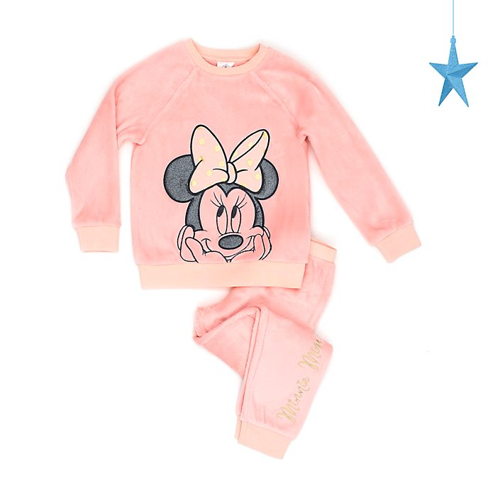 Disney Store Minnie Mouse Soft Feel Pyjamas For Kids