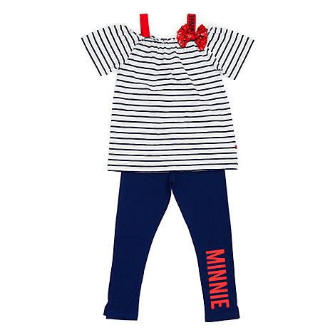 Conjunto infantil camiseta y leggings Minnie