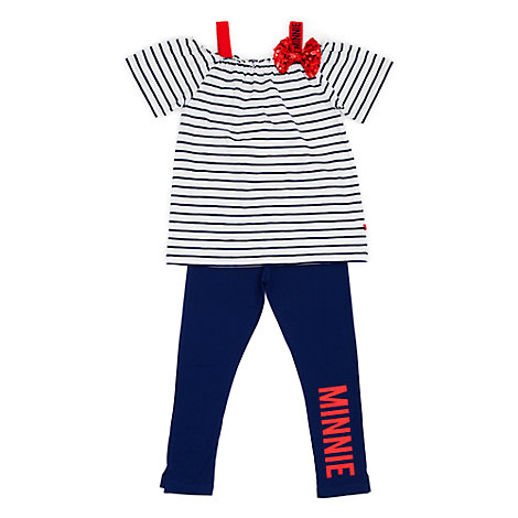 Minnie Mouse Top and Leggings Set For Kids