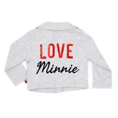 Minnie Maus - Biker-Jacke für Kinder