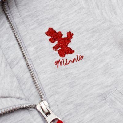 Blouson Minnie Mouse style motard pour enfants