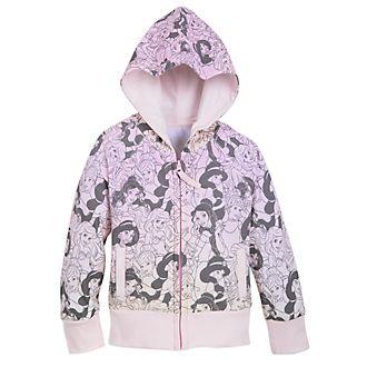 Disney Store Disney Princess Hooded Sweatshirt For Kids