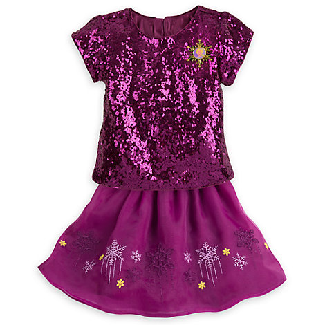 Elsa Skirt and Top Party Set For Kids