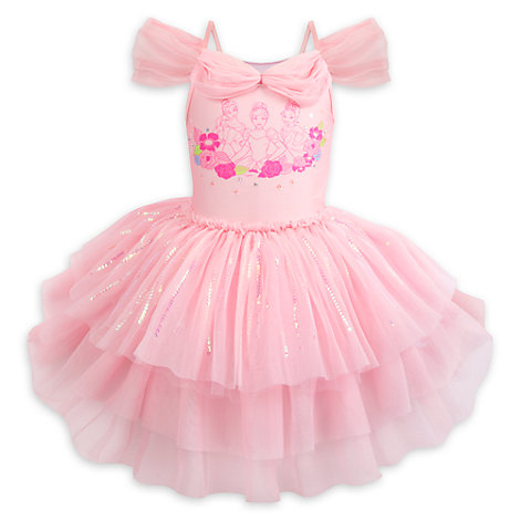 Disney Princess Leotard With Tutu For Kids