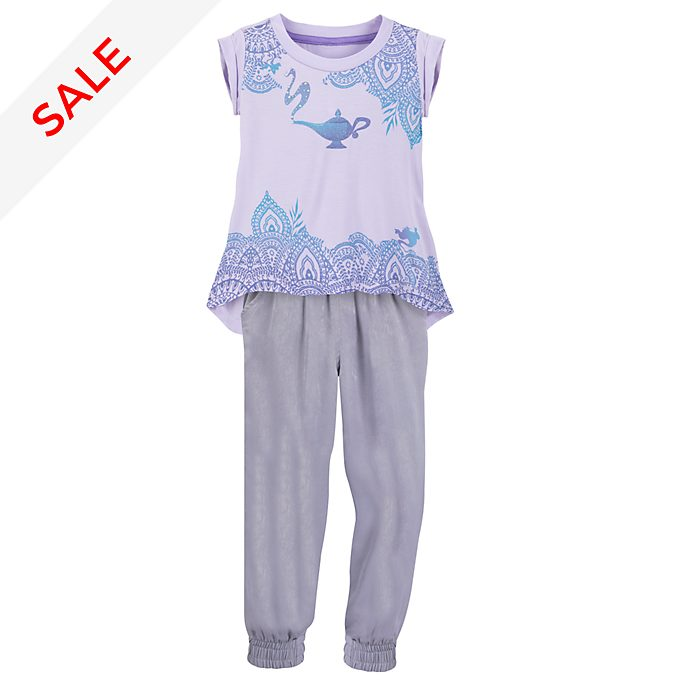 Disney Store Princess Jasmine Top and Trousers Set For Kids
