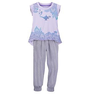 Conjunto infantil de camiseta y pantalón princesa Jasmine, Disney Store