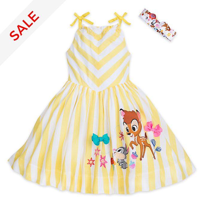 Disney Store Bambi Furrytale Friends Dress For Kids