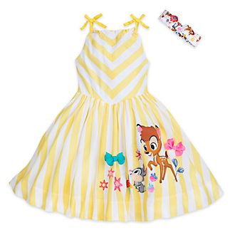 Disney Store Bambi Furrytale Friends Dress For Kids