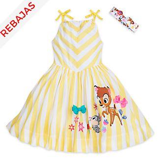 Vestido infantil Bambi, Furrytale Friends, Disney Store