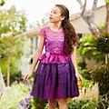 Vestido infantil Mal, Los Descendientes 3, Disney, Disney Store