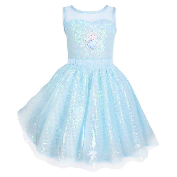 Vestido infantil Elsa, Frozen 2, Disney Store