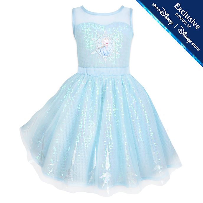 Disney Store Elsa Dress For Kids, Frozen 2