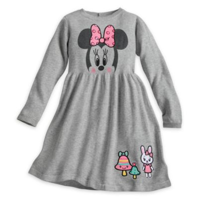 Minnie Mouse Knitted Dress For Kids