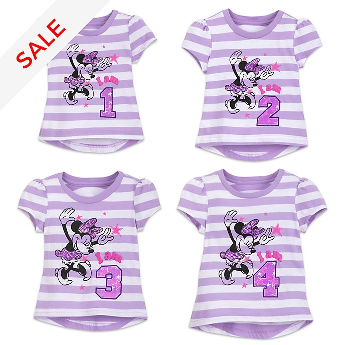 Minnie Mouse 'I am...' Number T-Shirt For Kids