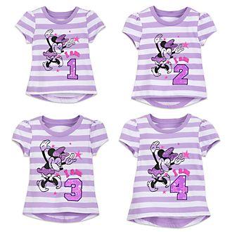 Maglietta bimbi I am... con numero Minni