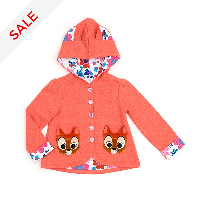 Disney Store Bambi Hooded Jumper For Kids
