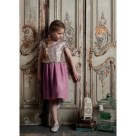 Vestido fiesta infantil Rapunzel