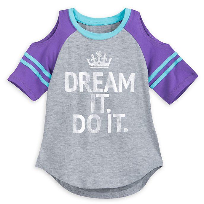 Camiseta infantil princesa Disney
