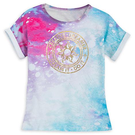 Camiseta infantil princesas Disney