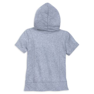 Sweatshirt à capuche Disney Princesses gris pour enfants, collection Our Universe