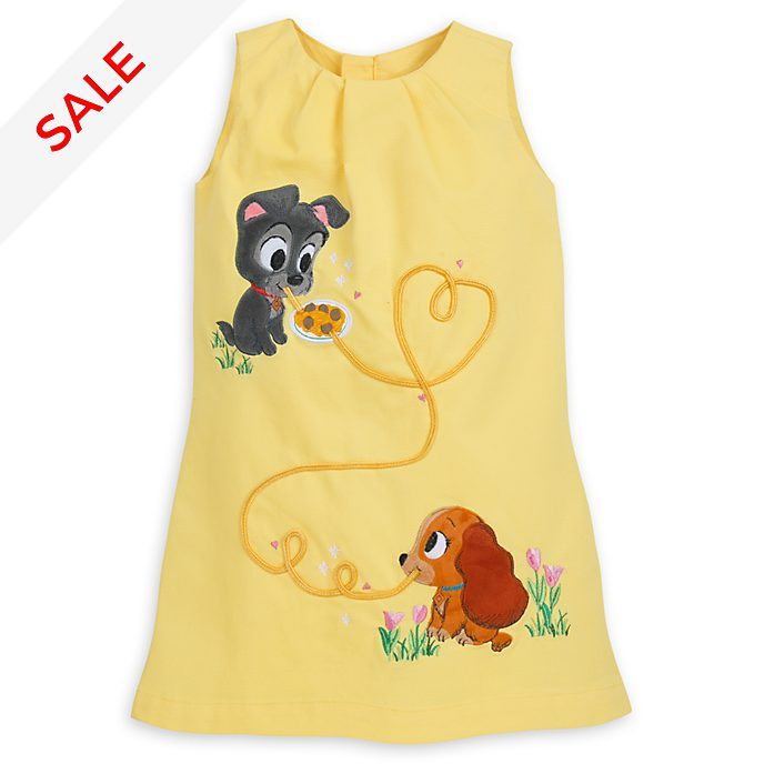 Disney Store Lady and the Tramp Furrytale Friends Dress For Kids