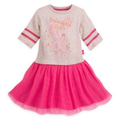 Vestido infantil de princesa Disney