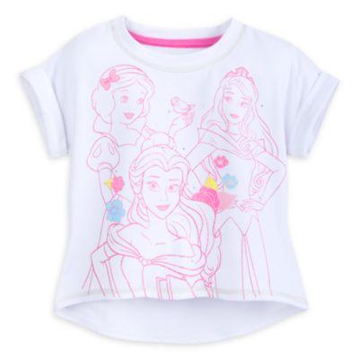 Completo maglietta e gonna bimbi Principesse Disney