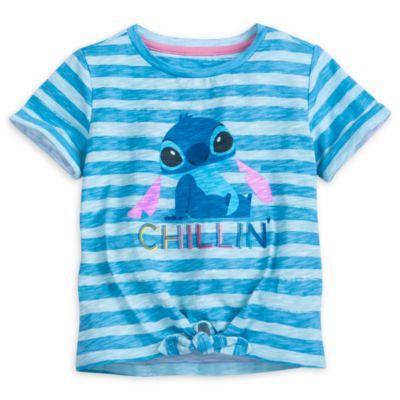 Completo bimbi maglietta e pantaloncini Stitch