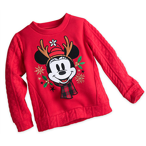 Share The Magic Minnie Mouse Festive Sweatshirt For Kids