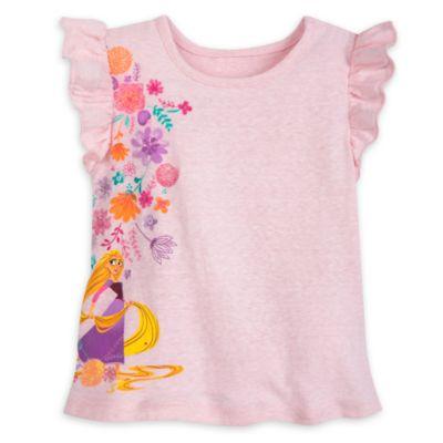 Conjunto infantil camiseta y falda Enredados