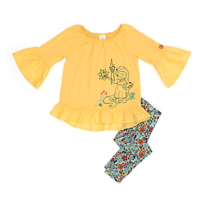 Disney Store Disney Animators' Collection Top and Bottoms Set For Kids