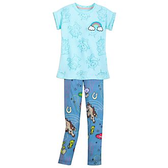 Disney Store Toy Story 3 Top And Leggings Set For Kids