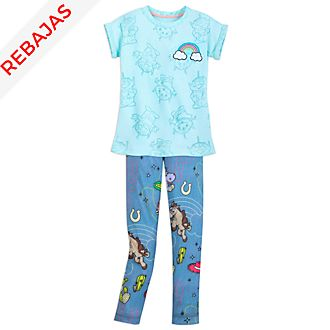 Conjunto infantil camiseta y leggings Toy Story 3, Disney Store