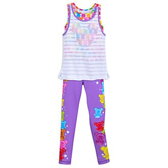 Disney Store Mickey And Minnie Vest And Leggings Set For Kids