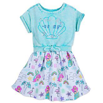 Completo con vestito bimbi La Sirenetta Disney Store