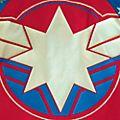 Disney Store Captain Marvel Bomber Jacket For Kids