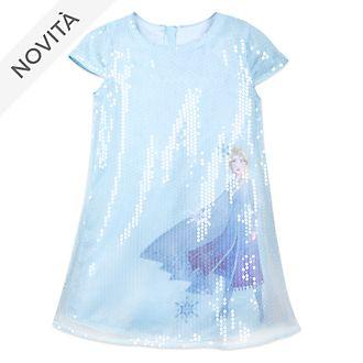 Vestito bimbi con paillettes Elsa Frozen 2: Il Segreto di Arendelle Disney Store