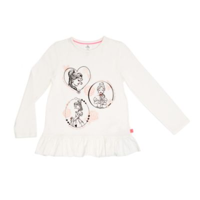Belle Blush Top and Leggings Set For Kids