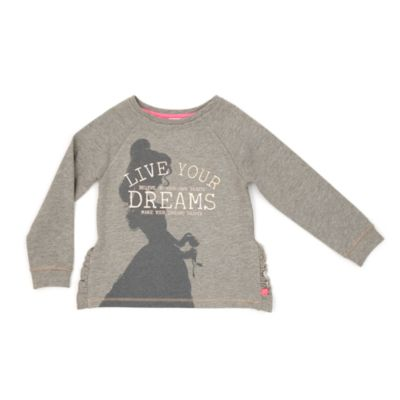 Belle Blush Sweatshirt For Kids