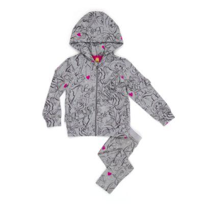 Winter Belle Hooded Sweatshirt For Kids