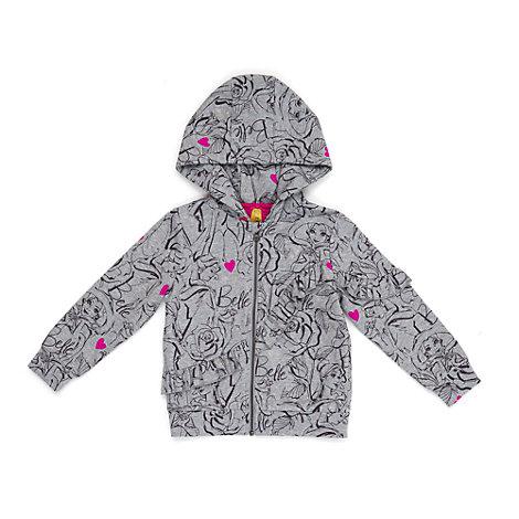 Belle vintersweatshirt med hætte til børn