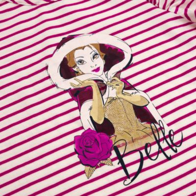Conjunto infantil falda y camiseta invierno Bella