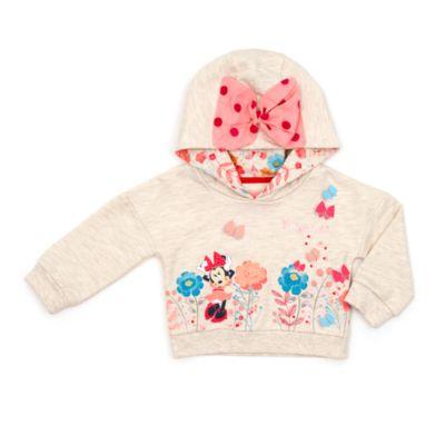 Sudadera infantil con capucha Minnie