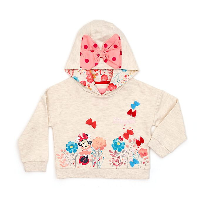 Minnie Mouse Hooded Sweatshirt For Kids