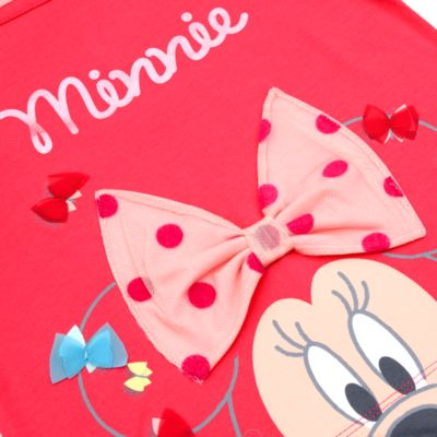 Camiseta infantil manga larga Minnie