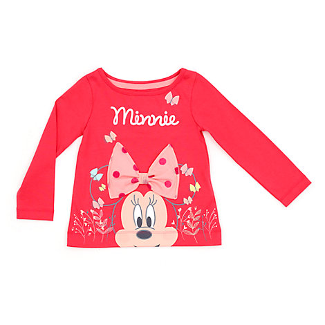Minnie Mouse Long Sleeved T-Shirt For Kids